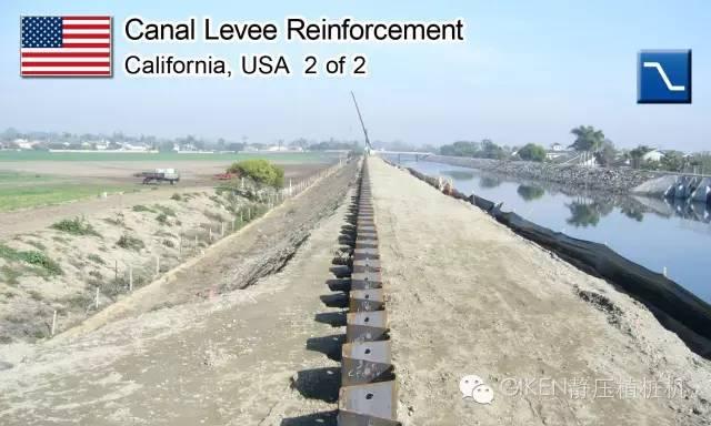 钢板桩在土质堤坝险情处置中的应用分析